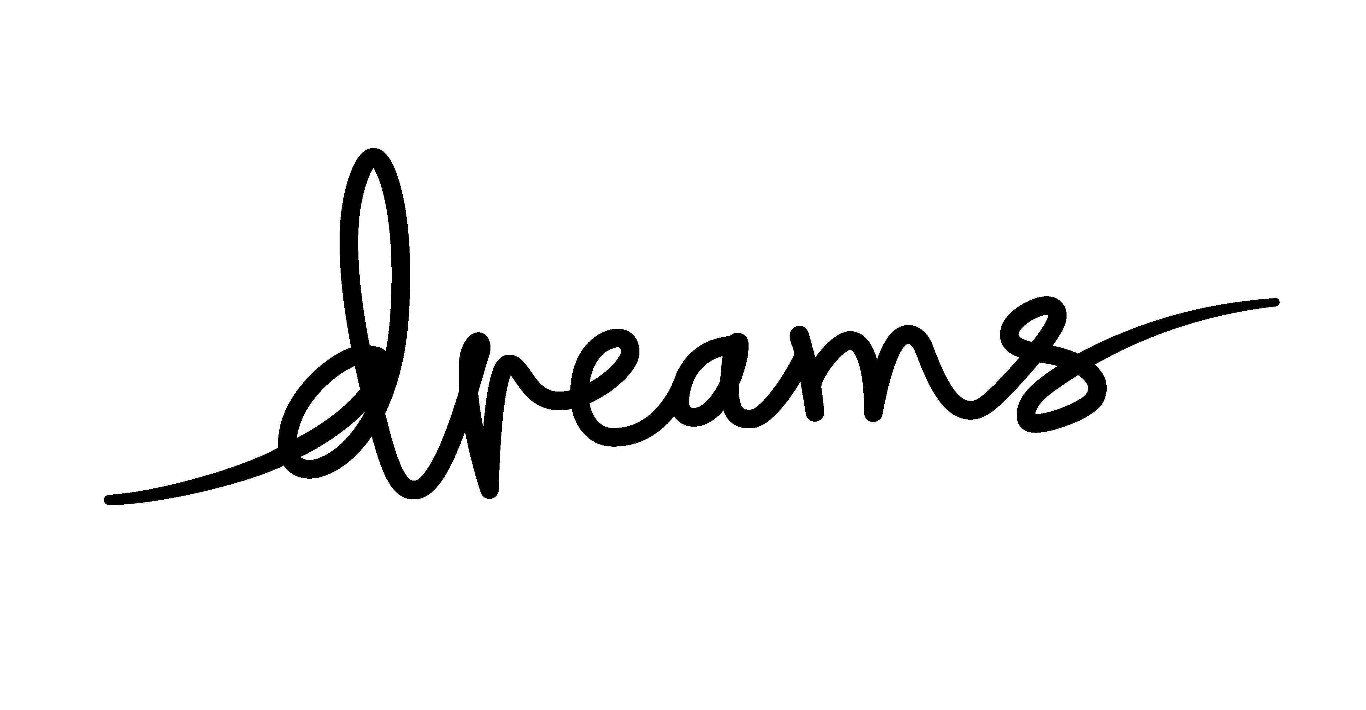 Dreams Logo Short (Black)