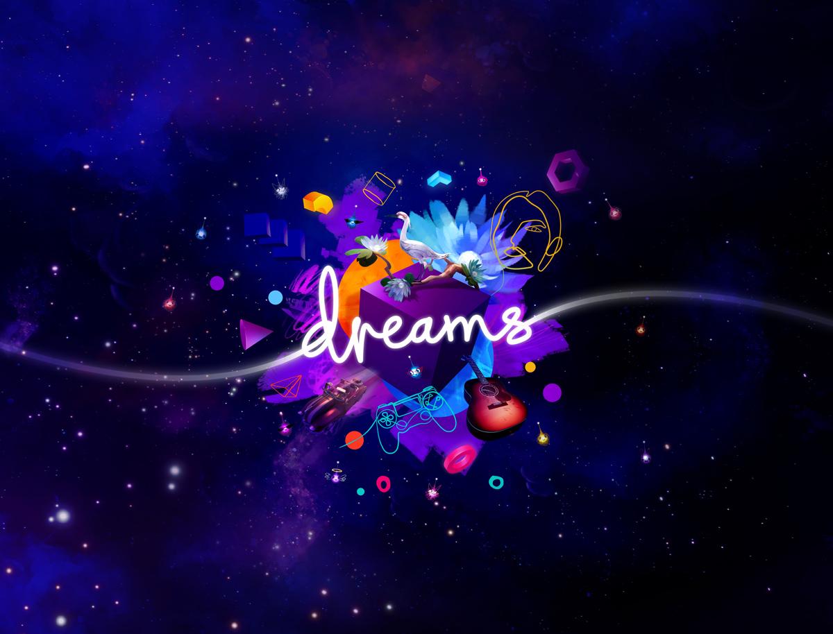 Dreams PS4 Logo on Key Art 1