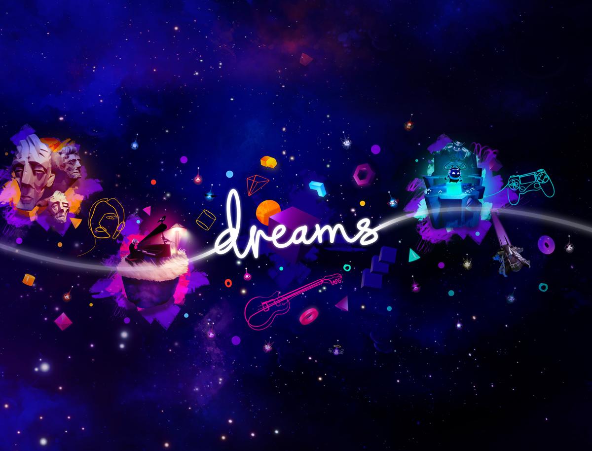 Dreams PS4 Logo on Key Art 2